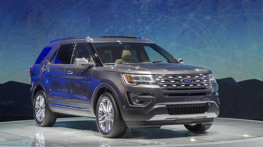 форд эксплорер 2017 новый цены фото