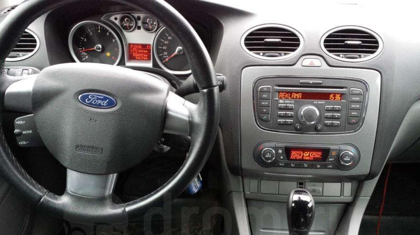 форд фокус 2 рестайлинг салон