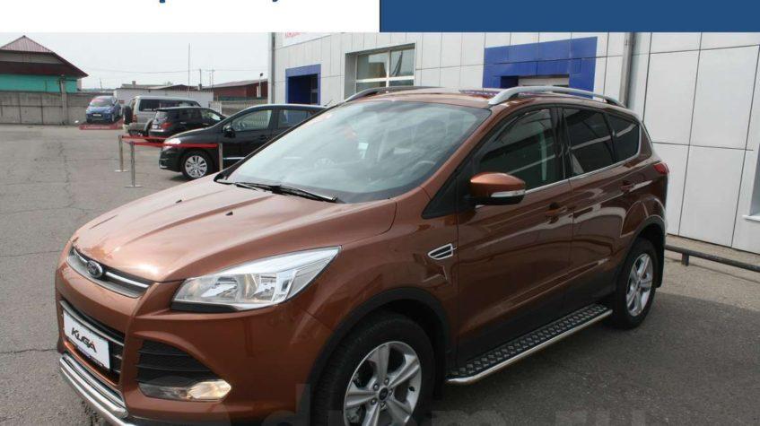 форд куга коричневый фото
