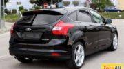 черный ford focus