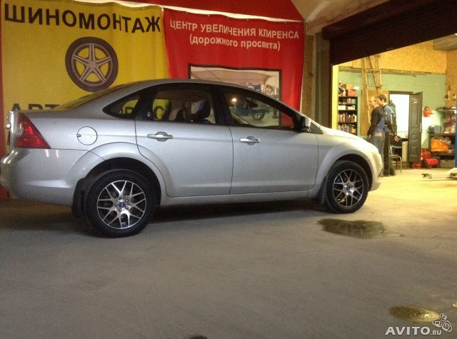 ford focus 3 клиренс