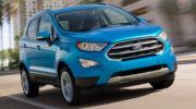 форд экоспорт 2017 новый кузов фото