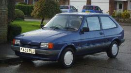 форд фиеста 1989 фото