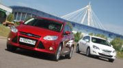 opel astra или ford focus