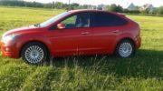 ford focus 2 красный