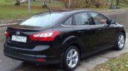 форд фокус 3 седан черный фото
