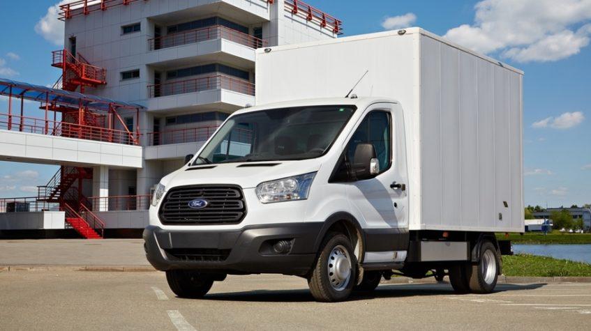 форд транзит грузовой фургон фото