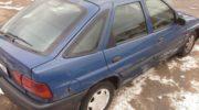 форд эскорт 1996 хэтчбек бензин 1 6