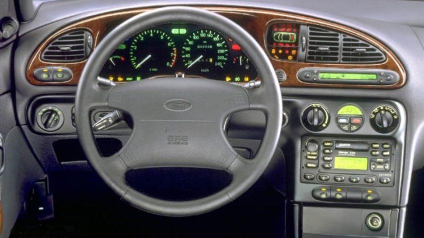 отключенная панель приборов ford mondeo mk2