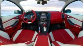 кожаный салон форд фокус 3