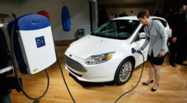 электромобиль форд фокус цена