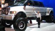 огромный форд пикап