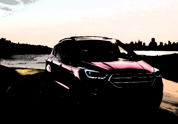 форд куга 2017 фото цвета