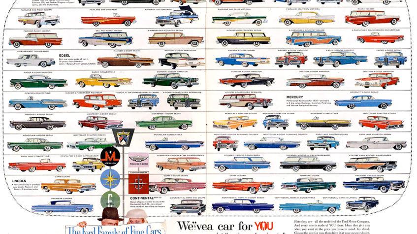 марки автомобилей форд