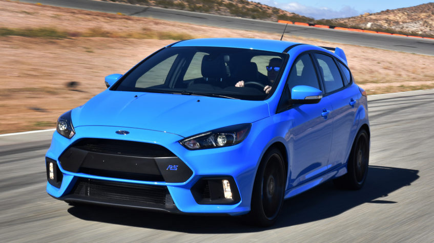 ford focus rs цена в россии