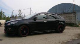 ford focus 2 черный