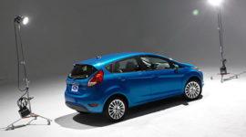 форд фиеста синий фото