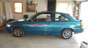 размер диска форд эскорт