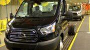 ford transit шасси цена