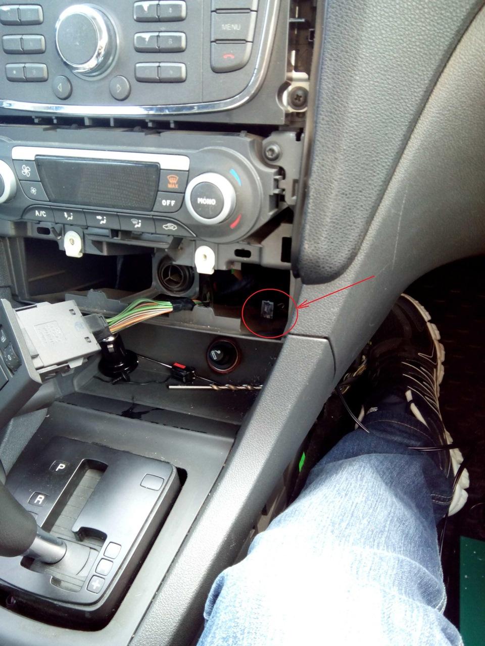 Установка разъема AUX на Ford Focus 2 - Отчеты