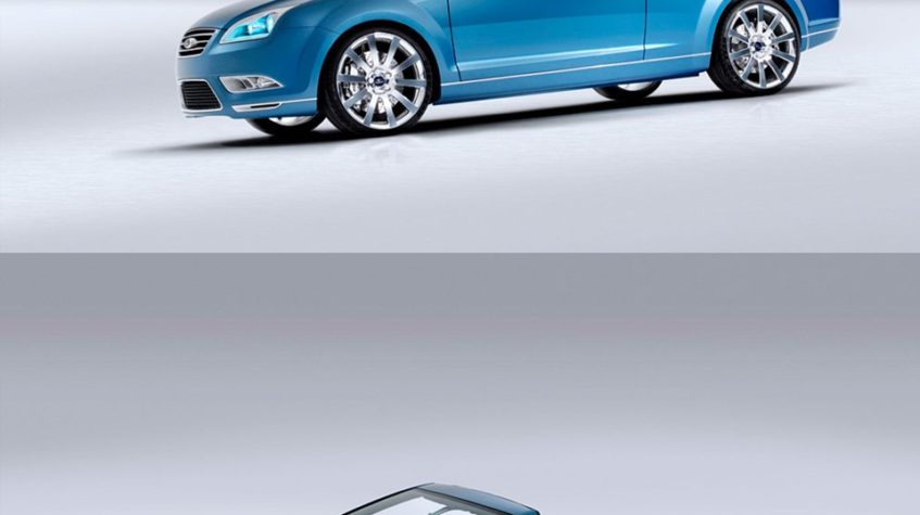 бампер форд фокус кабриолет