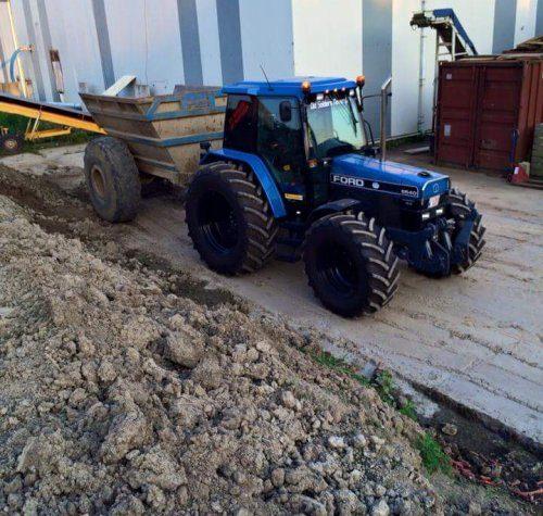 запчасти к трактору форд 6640