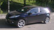 форд фиеста черная фото