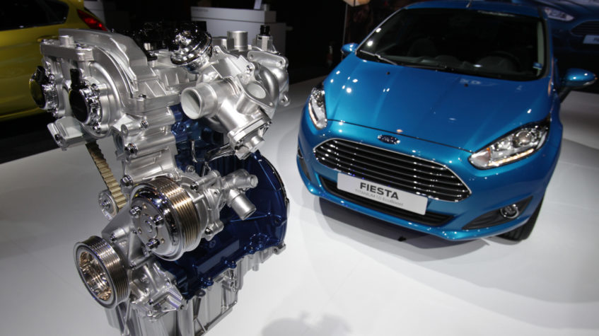 История двигателей Форд