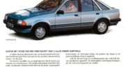 характеристика форд эскорт 1 3