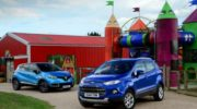 сравнение автомобилей рено каптур и форд экоспорт