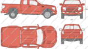 размеры форд раптор 2017