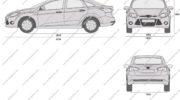 форд фокус размеры салона