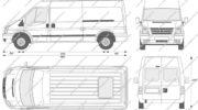 форд транзит грузовой фургон габариты кузова