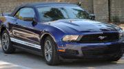 форд мустанг синий