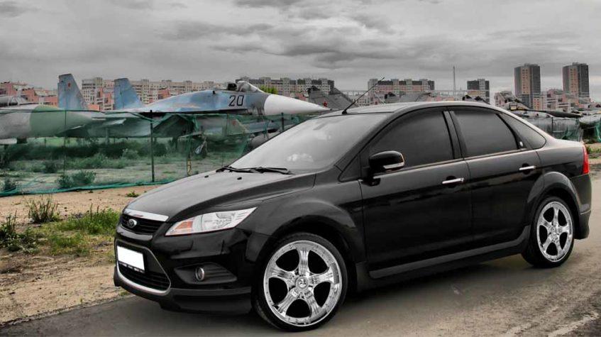 форд фокус 2 седан рестайлинг фото