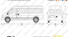 ford transit пассажирский характеристики