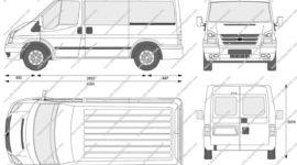ford transit автобус технические характеристики