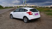 ford focus 3 white