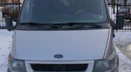форд транзит грузовой фургон грузоподъемность