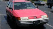 форд эскорт 1991