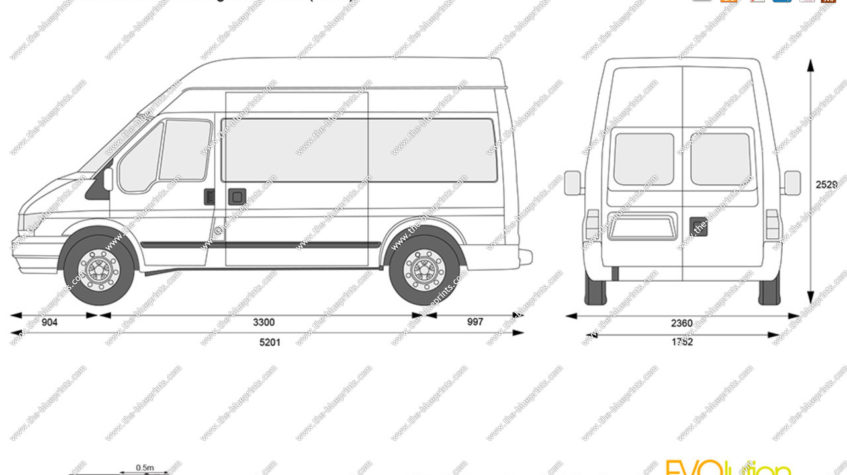 форд транзит грузовой фургон технические характеристики