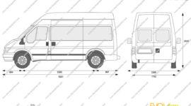 форд транзит грузовой фургон технические характеристики грузоподъемность