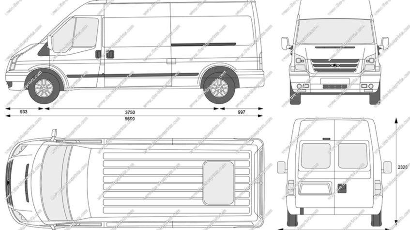форд транзит грузовой размеры