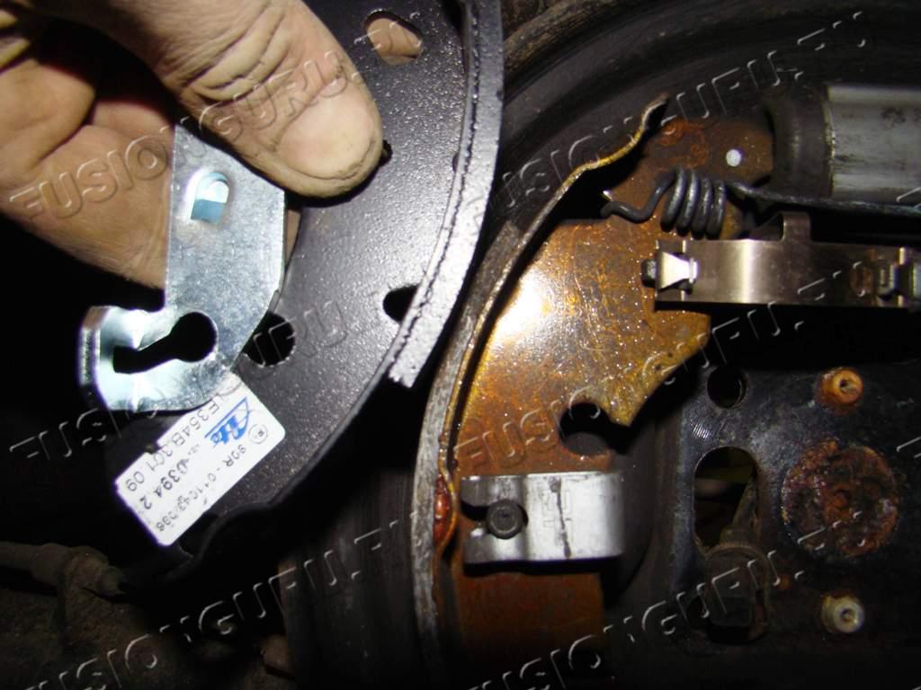 замена задних колодок на форд фокус 2 барабаны собранные делу, позволили