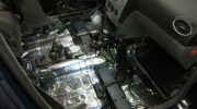 шумоизоляция автомобиля форд