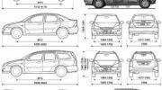 автомобиля форд 3