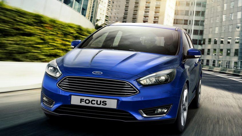 ford focus цвета